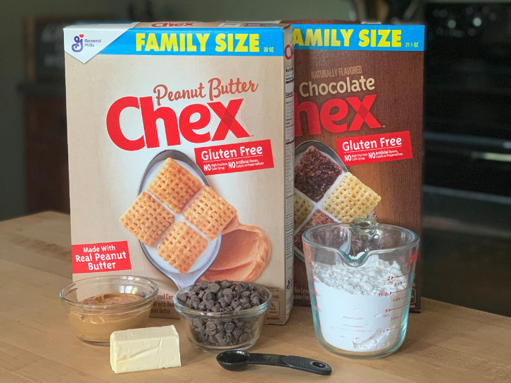 Peanut Butter Chex Double Peanut Butter Muddy Buddies ingredients
