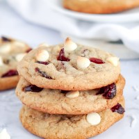 Amazing White Chocolate Cranberry Cookies