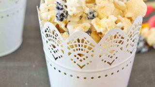 Blueberries and Cream Popcorn