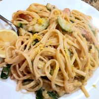 Lemon & Thyme Chicken Spaghetti