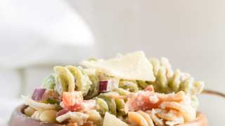 Bacon Parmesan Pasta Salad