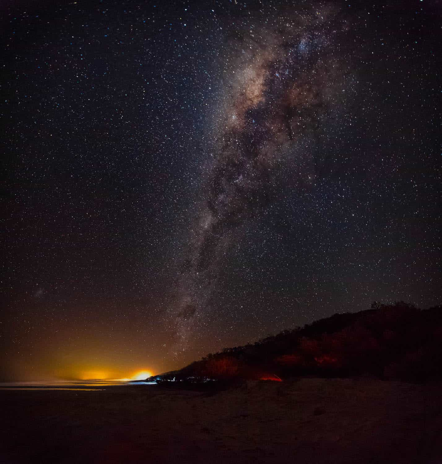 Milky Way Over North Shore  Frysteen Photography
