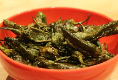 Padrón Peppers AirFyer Recipe
