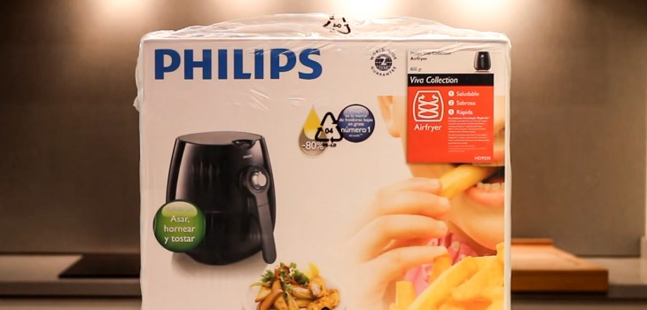 Unboxing the Philips Airfryer 9220