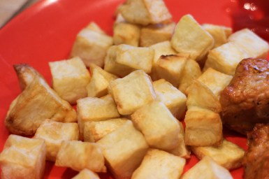 AirFryer diced fries