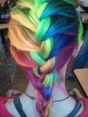 kolorowe osy - magazyn fryzury