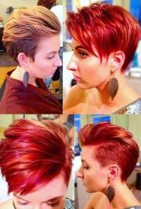 Modne Fryzury 2019 Rude Frisuren Trend