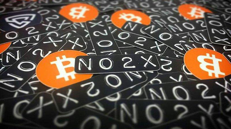 no 2x breaking bitcoin