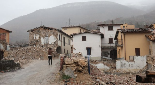 Real people: Earthquake Norcia