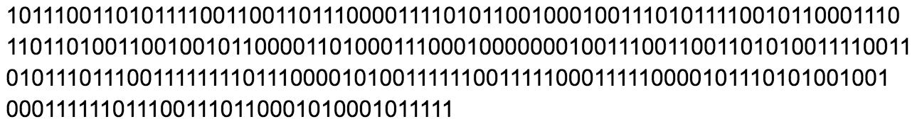 hash binary
