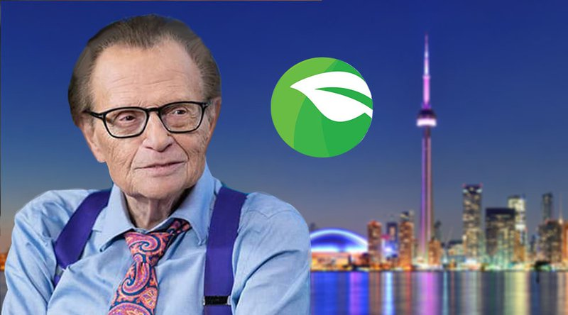 Crypto Startup Taps Larry King in Shared Effort to Combat Climate Change