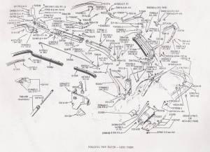 1966 Mustang Convertible Top Frame Diagram Exterior