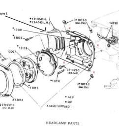 1966 mustang headlight bucket [ 1340 x 832 Pixel ]