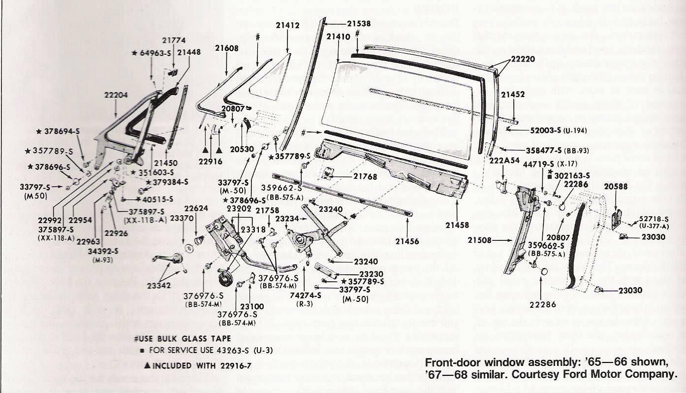 hight resolution of 65 mustang door glass diagram schematic diagram1966 mustang door diagram wiring diagram all data 65 mustang
