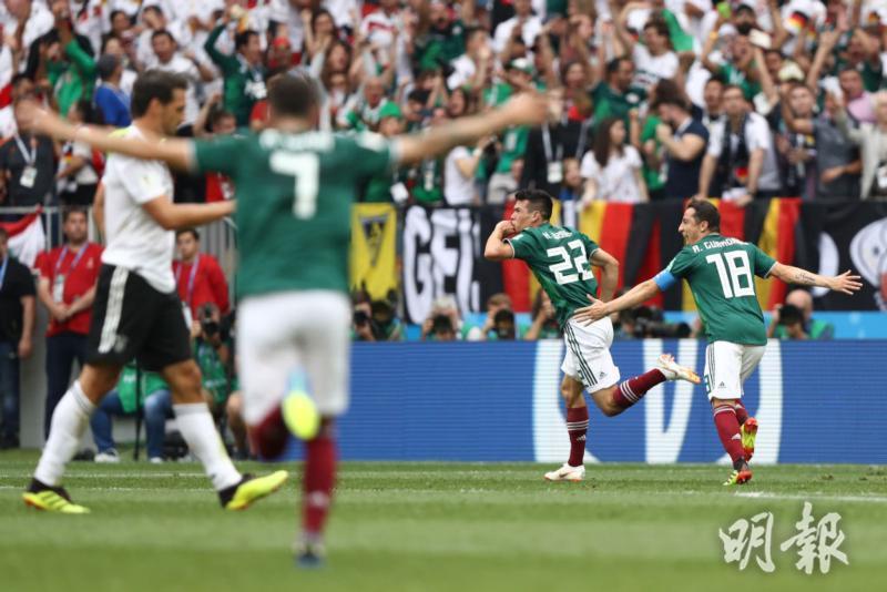 【世界盃F組】德國0﹕1負墨西哥 36年來初戰首敗 (01:14) - 20180618 - 體育 - 即時新聞 - 明報新聞網