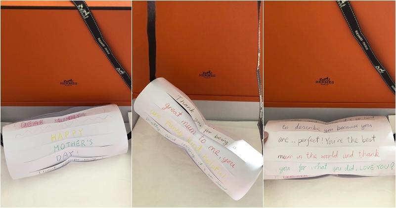 名牌包裝盒藏母親節親筆信 郭可盈讚女兒禮物彌足珍貴 (16:19) - 20200510 - SHOWBIZ - 明報OL網