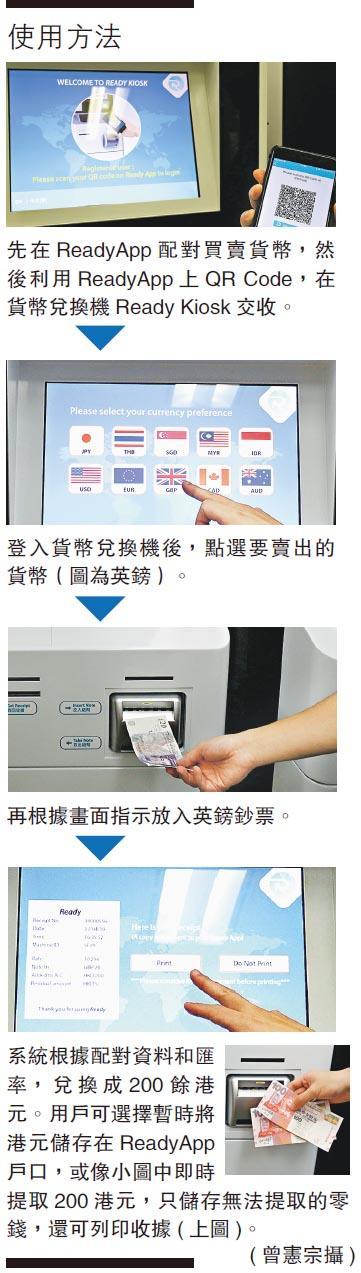 AI配對買賣 換錢平臺自助兌外幣 毋須「入貨」減成本 壓縮中介費惠消費者 - 20190506 - 港聞 - 創科線 - 明報新聞網