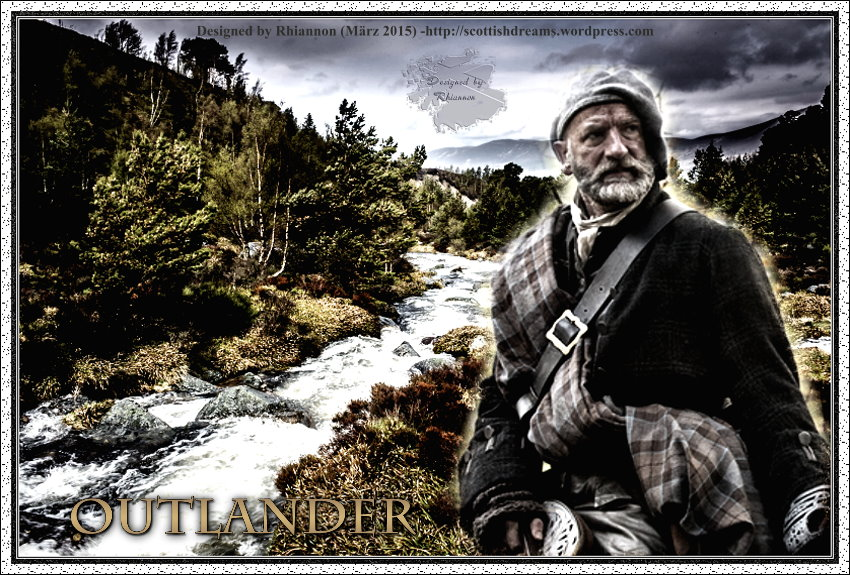 Outlander-Wallpaper: Dougal