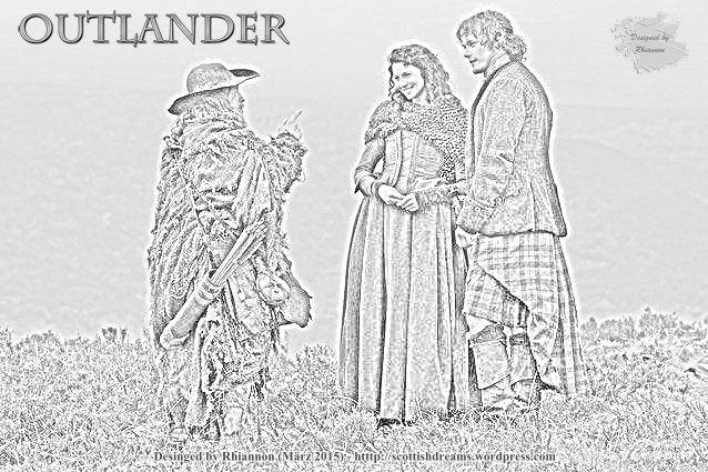 Outlander Pencil Drawing No. 3