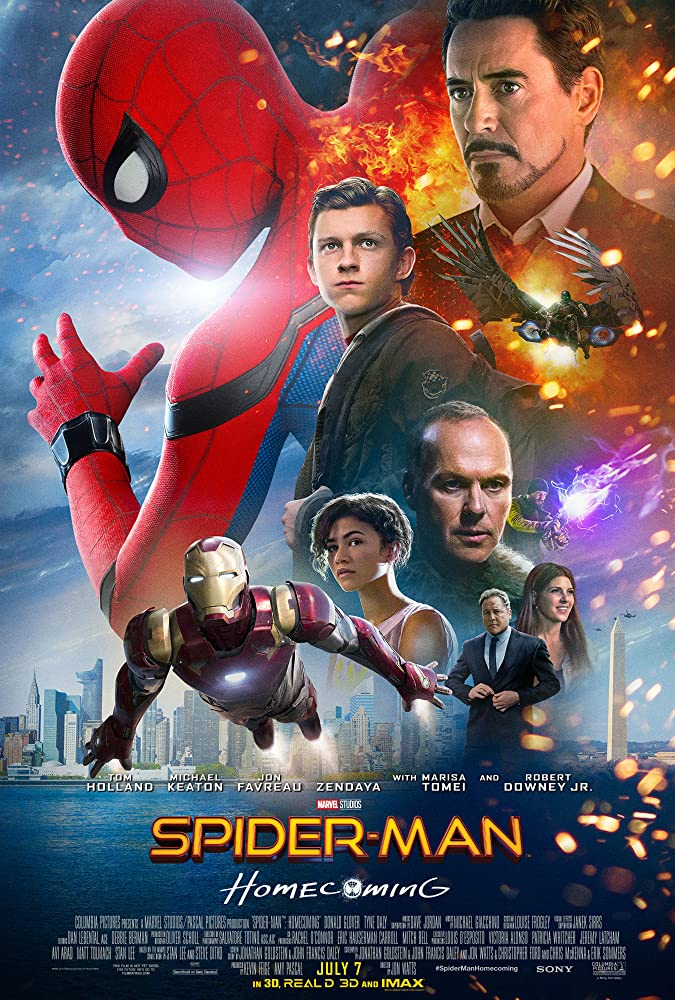 Spider-Man Homecoming 2017 Hindi Dual Audio 450MB BluRay 480p
