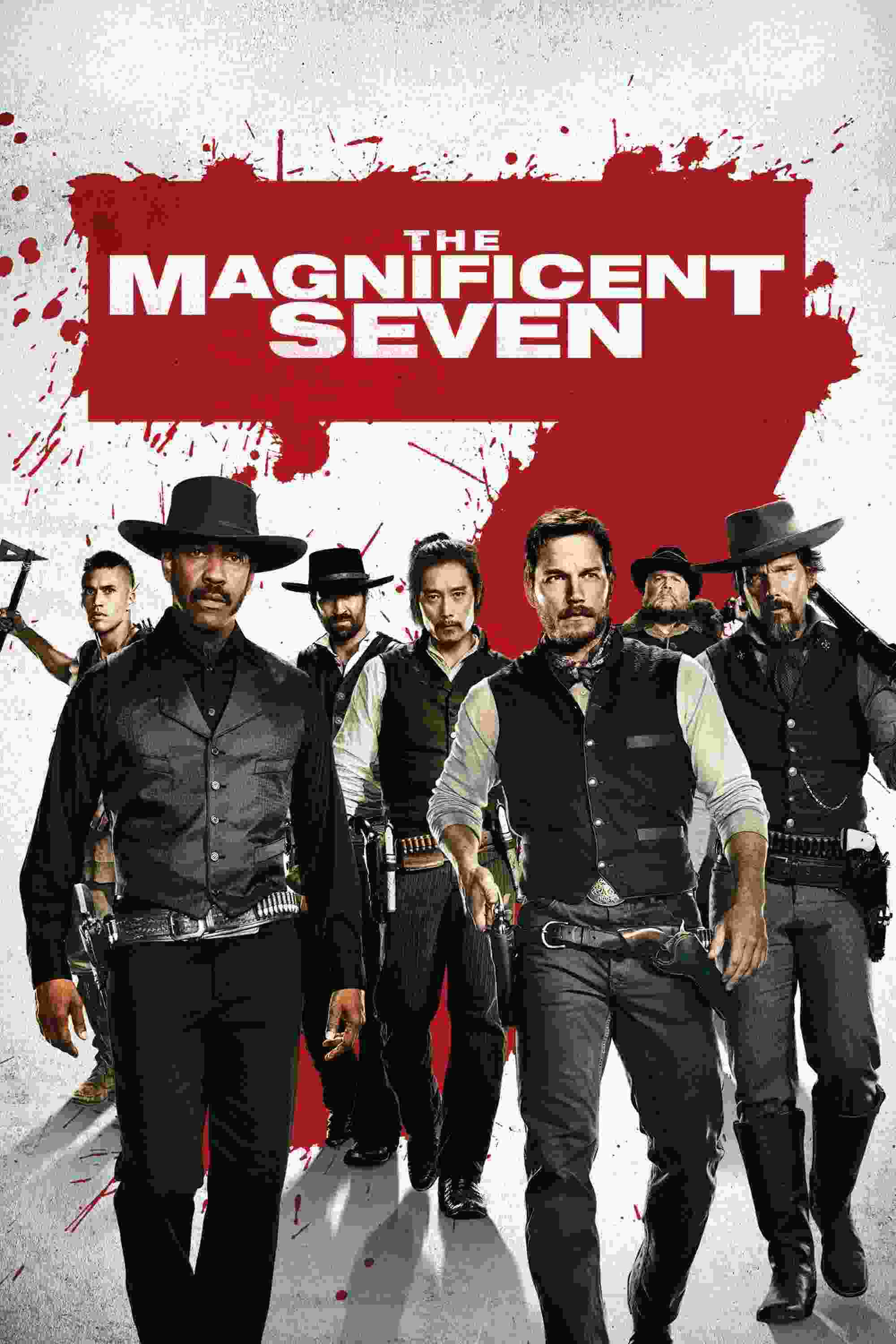 The Magnificent Seven 2016 Hindi Dual Audio 480p BluRay 500MB Download