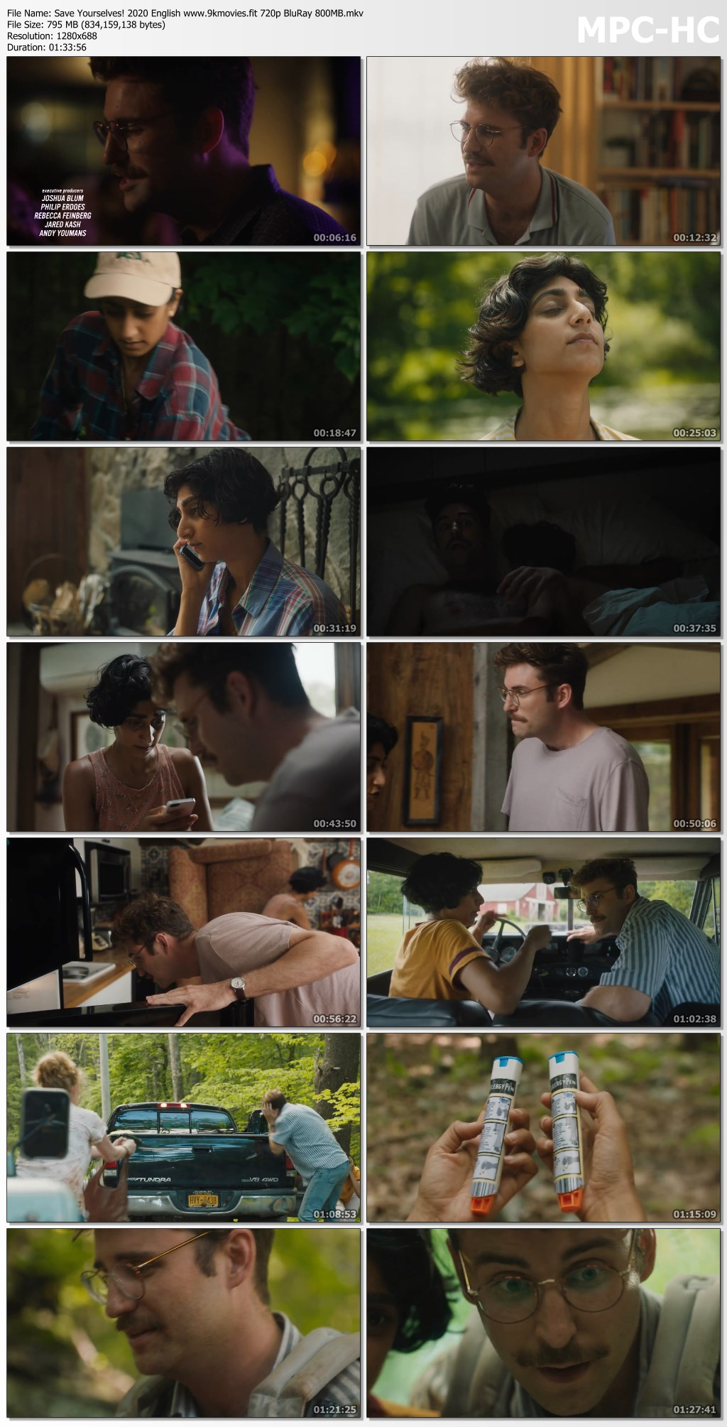 Download Save Yourselves! 2020 English 480p BluRay 300MB