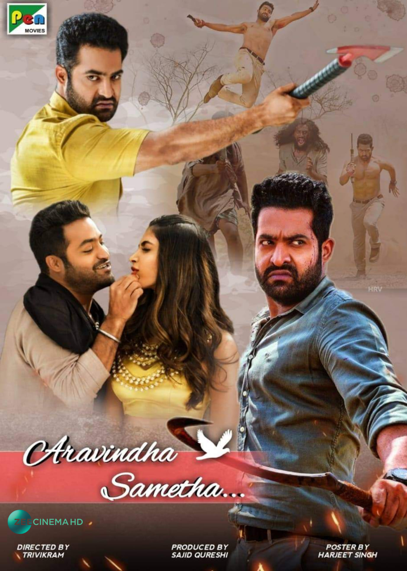 Aravinda Sametha Veera Raghava 2021 Hindi Dubbed 720p WEBRip 800MB Download