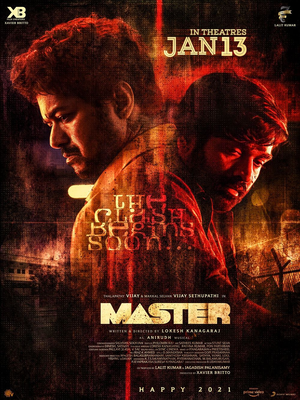 Master 2021 Hindi Dubbed 720p PreDVDRip 800MB Download