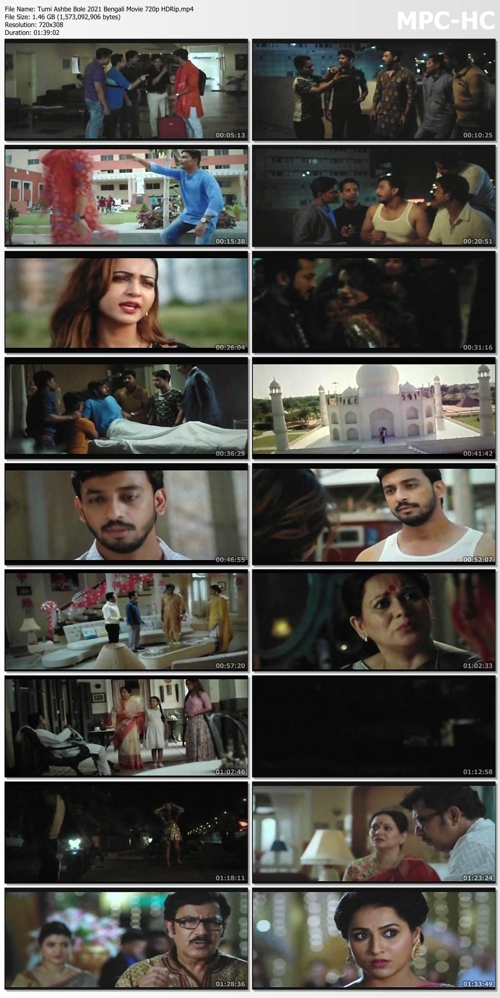 Tumi Ashbe Bole 2021 Bengali Movie 720p HDRip.mp4 thumbs