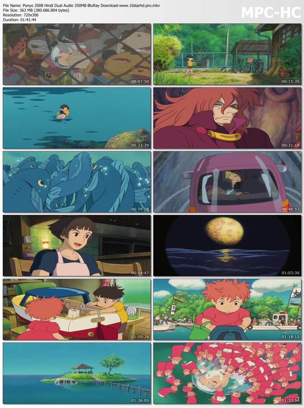Download Film Ponyo : download, ponyo, Ponyo, Hindi, Audio, 300MB, BluRay, Download, Moviesdada.bid
