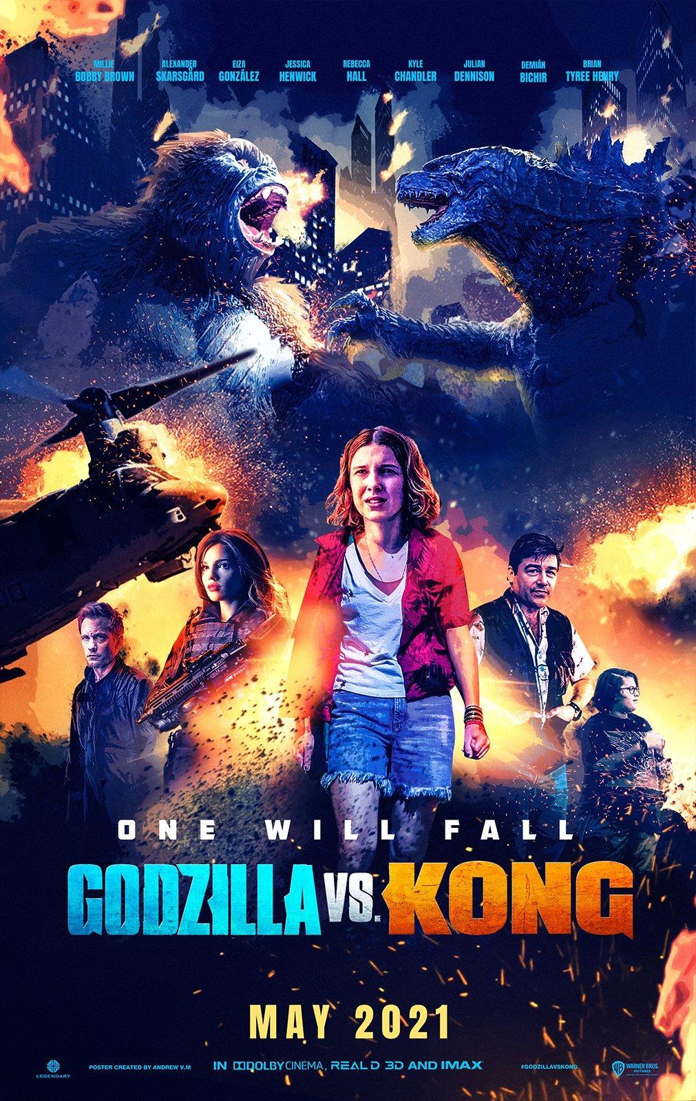 Godzilla vs. Kong 2021 Hindi Dual Audio 480p | 720p HDRip 405MB | 980MB Download
