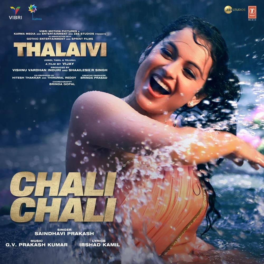 Chali Chali (Thalaivi 2021) Hindi Video Song 1080p HDRip 34MB Download