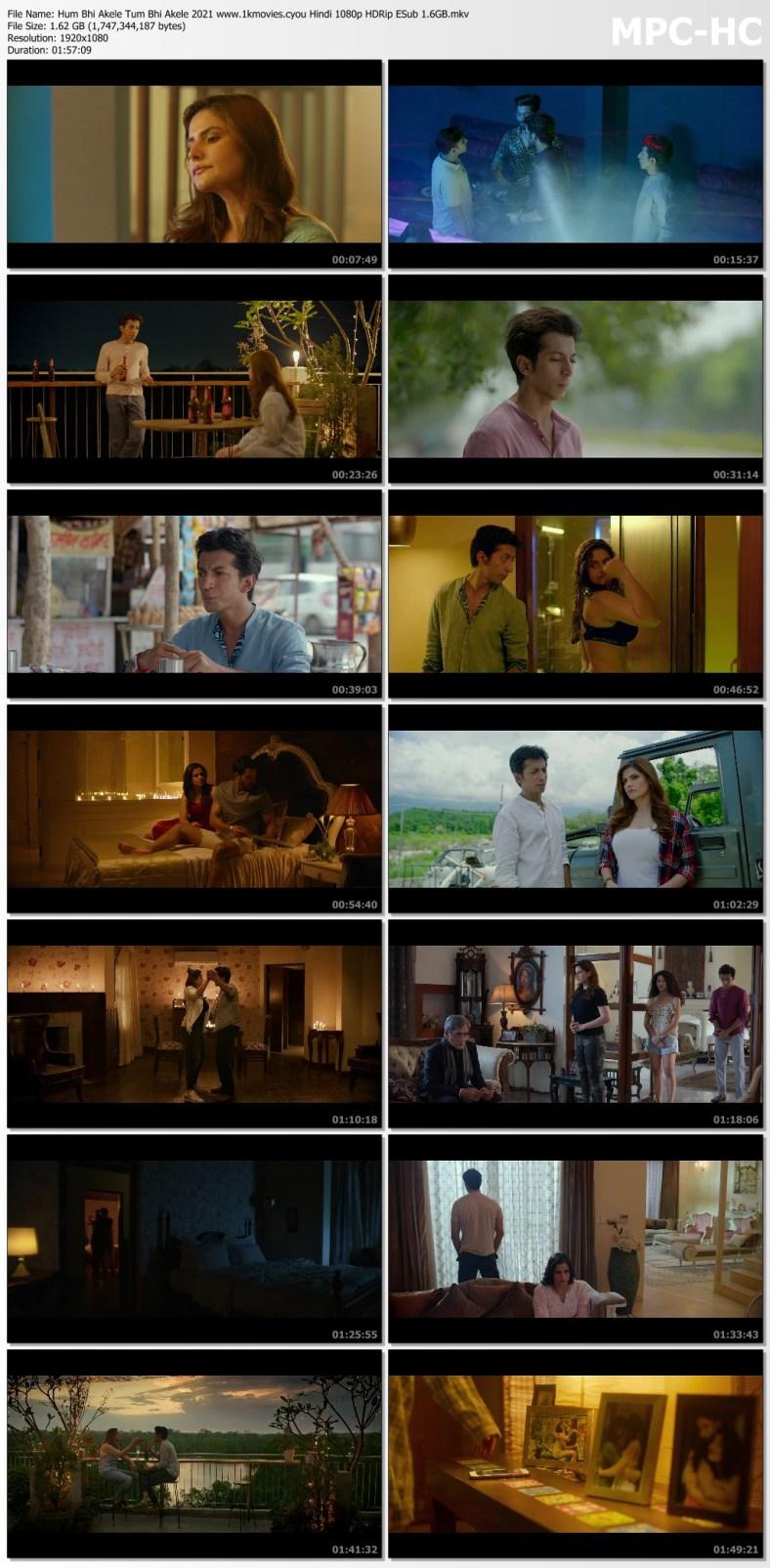Download Hum Bhi Akele Tum Bhi Akele 2021 Hindi 480p HDRip ESub 400MB