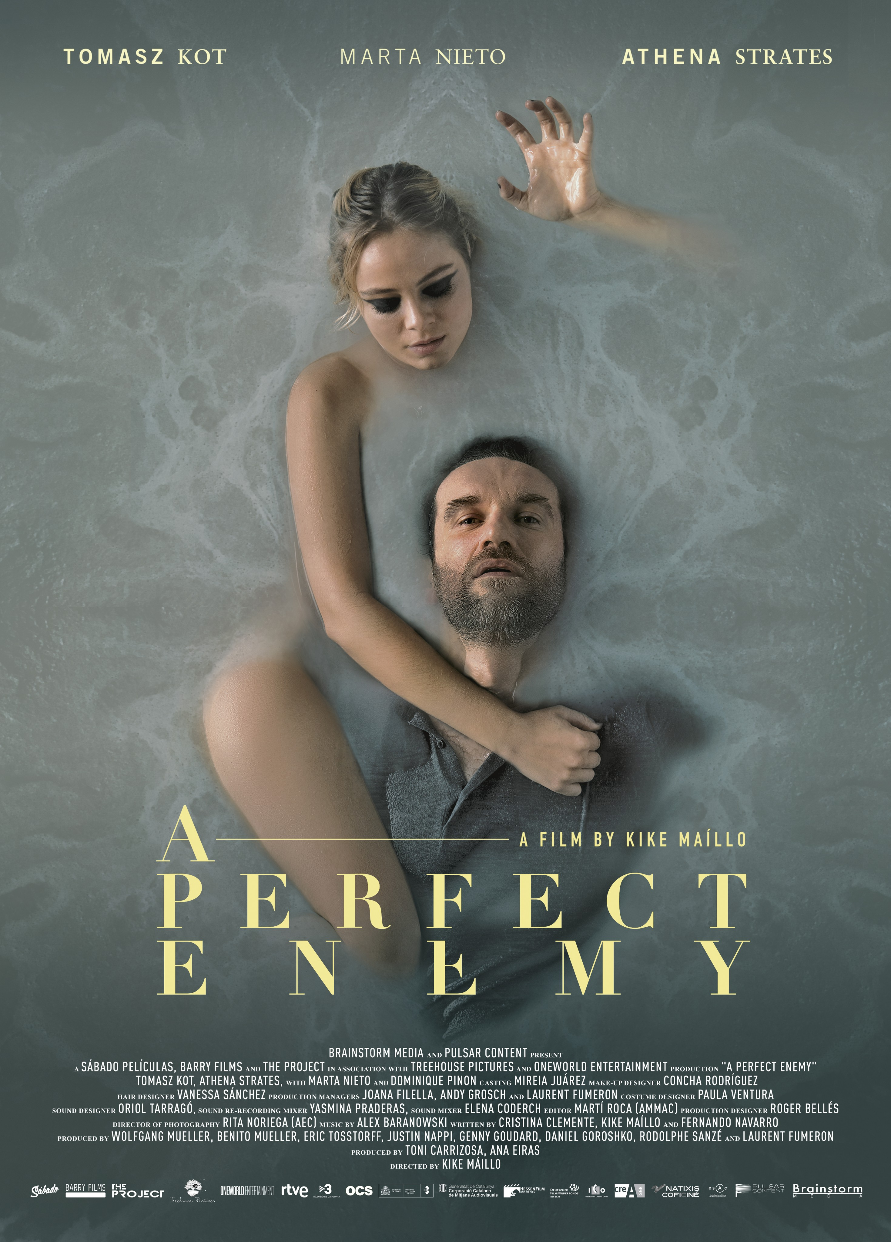 A Perfect Enemy 2021 English 720p HDRip 800MB Download