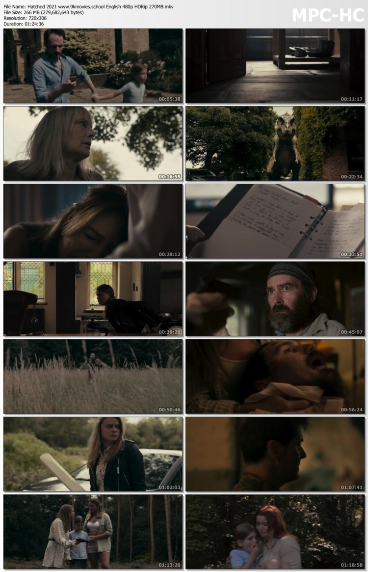 Download Hatched 2021 English Movie 480p HDRip 270MB