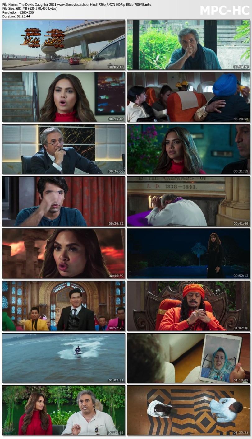 Download The Devils Daughter 2021 Hindi 720p AMZN HDRip ESub 600MB