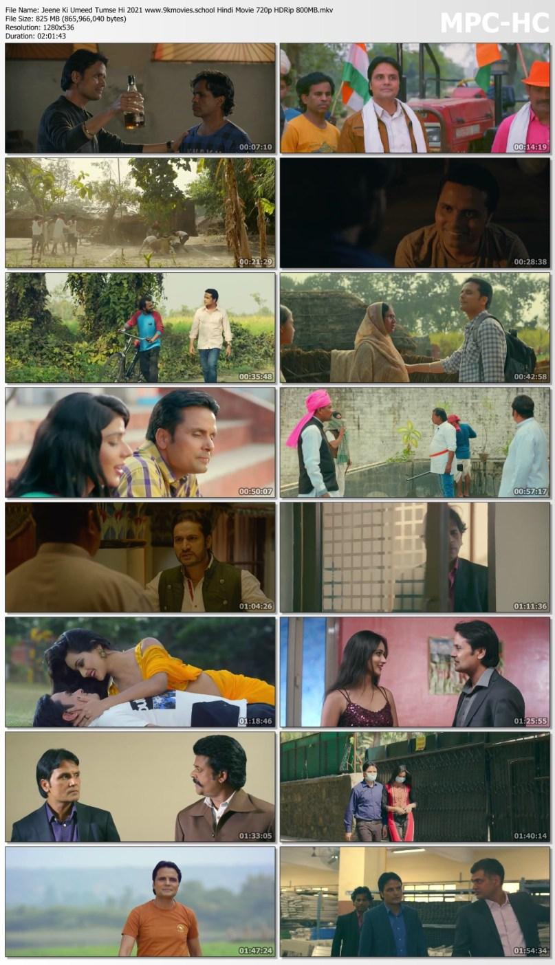Download Jeene Ki Umeed Tumse Hi 2021 Hindi Movie 720p HDRip 800MB