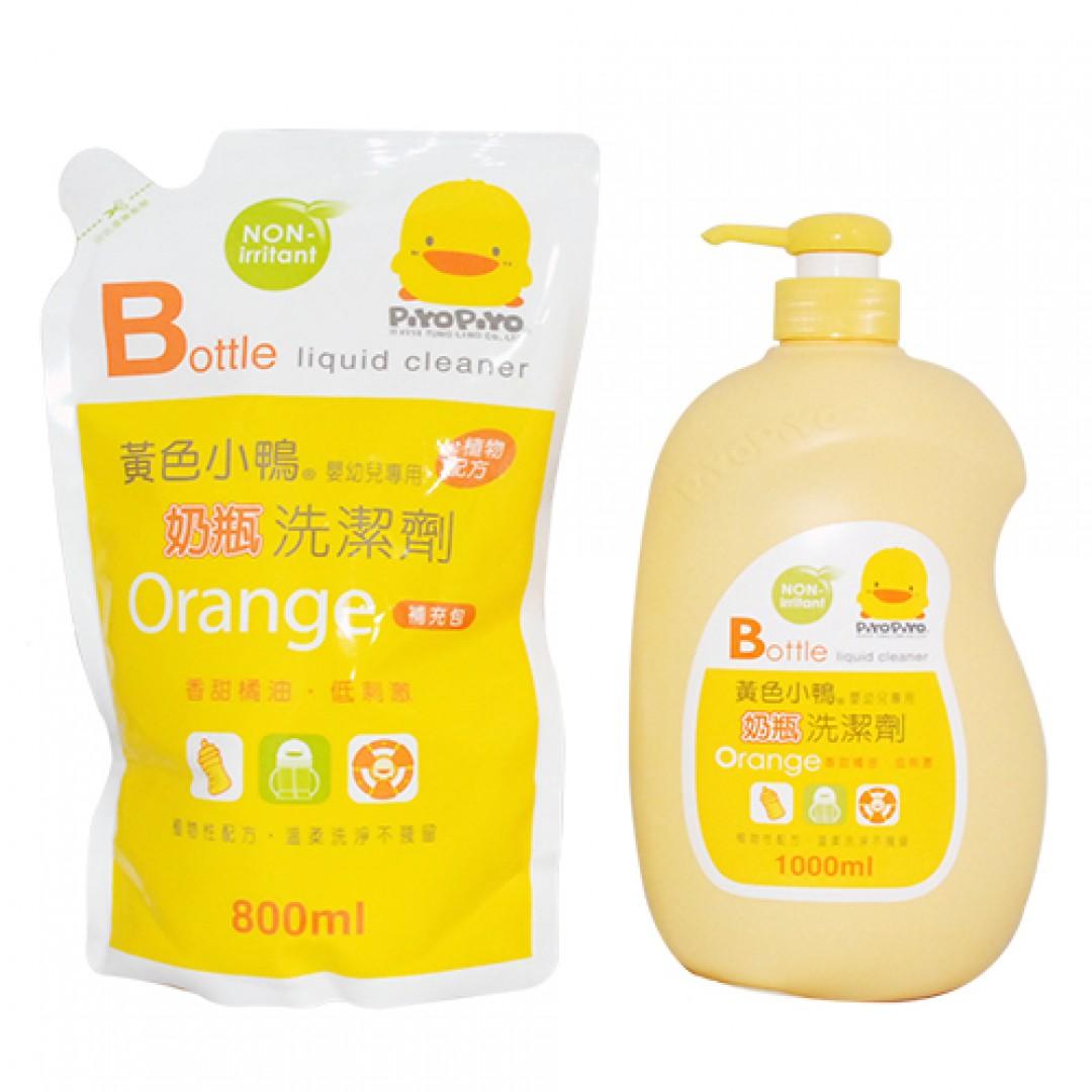 PiYo黃色小鴨 嬰幼兒專用奶瓶洗潔劑(1罐+1補充包):愛兒麗婦幼用品連鎖百貨 高雄市嬰兒用品