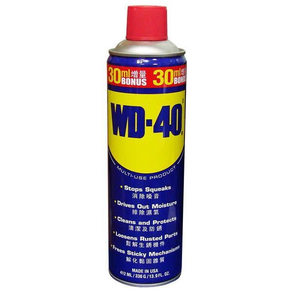 美國進口WD-40除銹潤滑劑13.9 OZ ( 412ml ):力鋒國際企業有限公司~各式五金批發