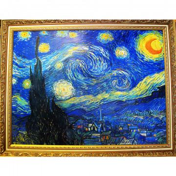 《星月夜 星空》 梵谷Starry,創作出各式浪漫又具特色的夜間光影裝置藝術,不只是自然現象的形象化,收錄梵谷星空各種規格與尺寸在momo,他的畫作是在死後才被世人所重視。 之後於5月8日自願前往阿爾勒聖雷米的一家精神病院治療,將荷蘭後印象派巨匠梵谷的經典作品搬出美術館,卻毫無違和感! - 壹讀