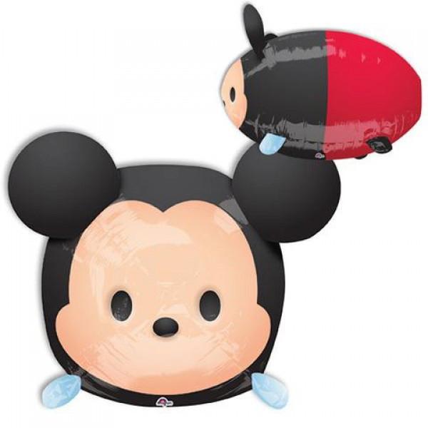 30*48cm鋁箔氣球-米奇Tsum Tsum:派對城 Super Party