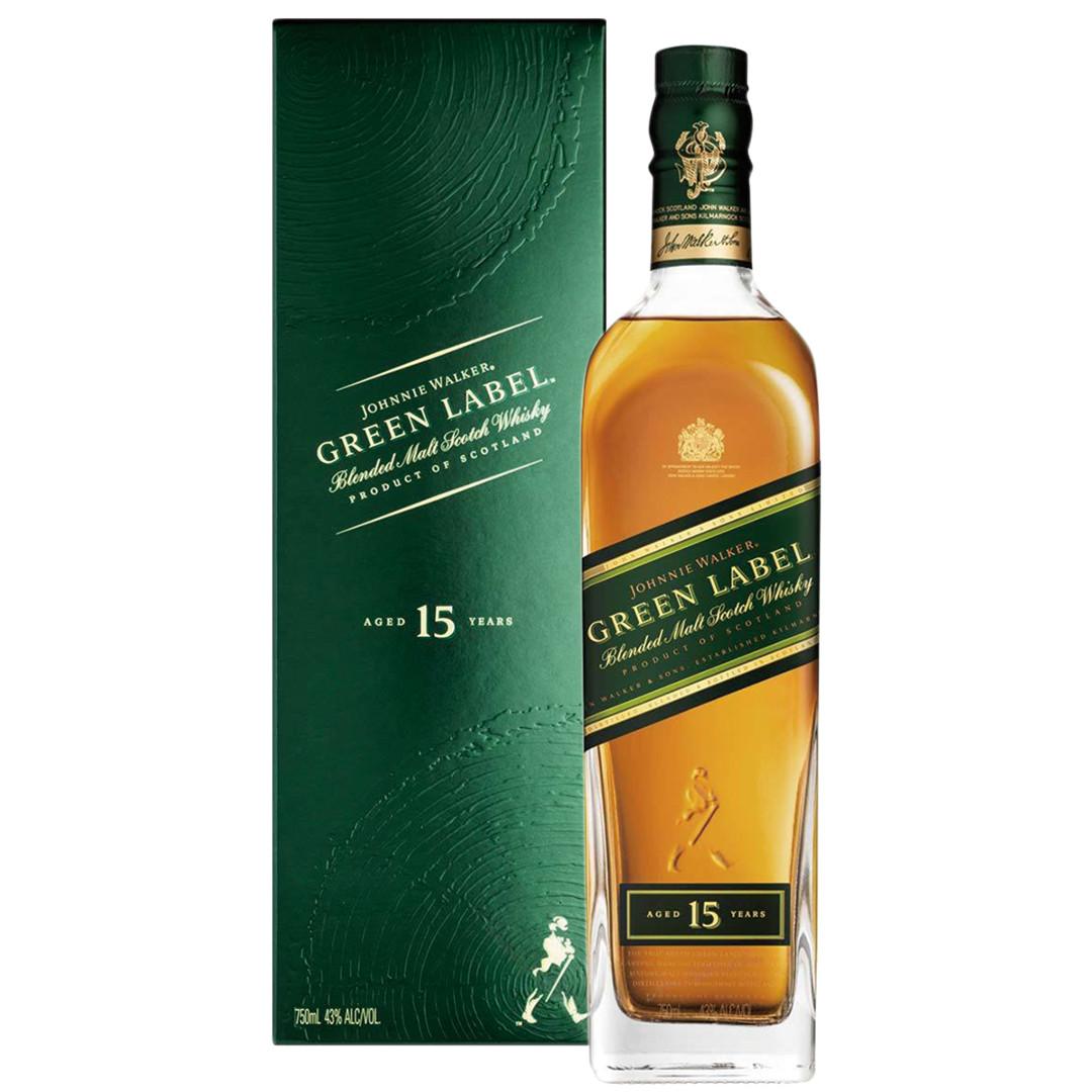 Johnnie Walker 約翰走路15年綠牌調和威士忌:洋酒城洋酒量販連鎖