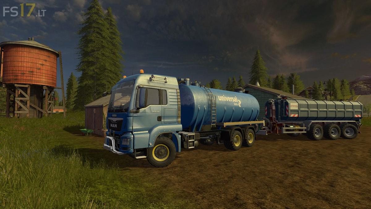 Semi Trailer Farming Simulator 17