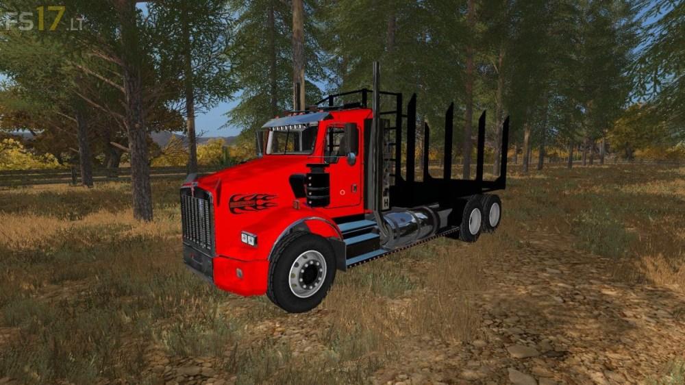 medium resolution of kenworth t800 log trucks v 1 0
