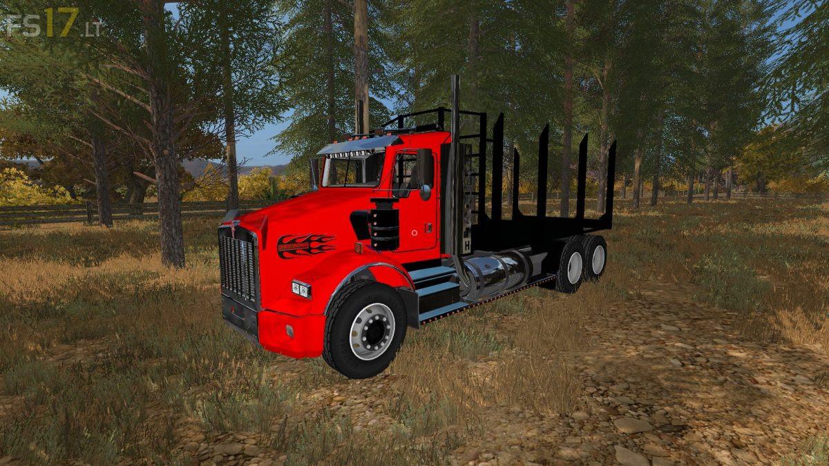 hight resolution of kenworth t800 log trucks v 1 0