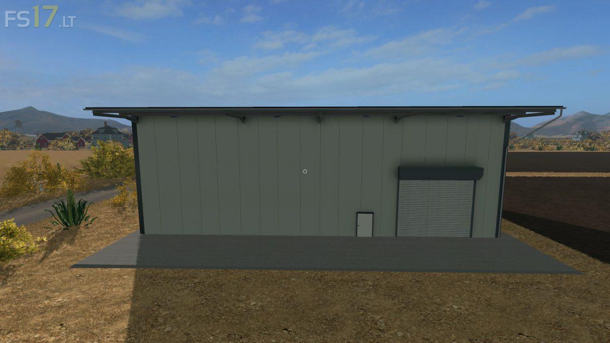 Placeable Industrial Hall v 10  FS17 mods