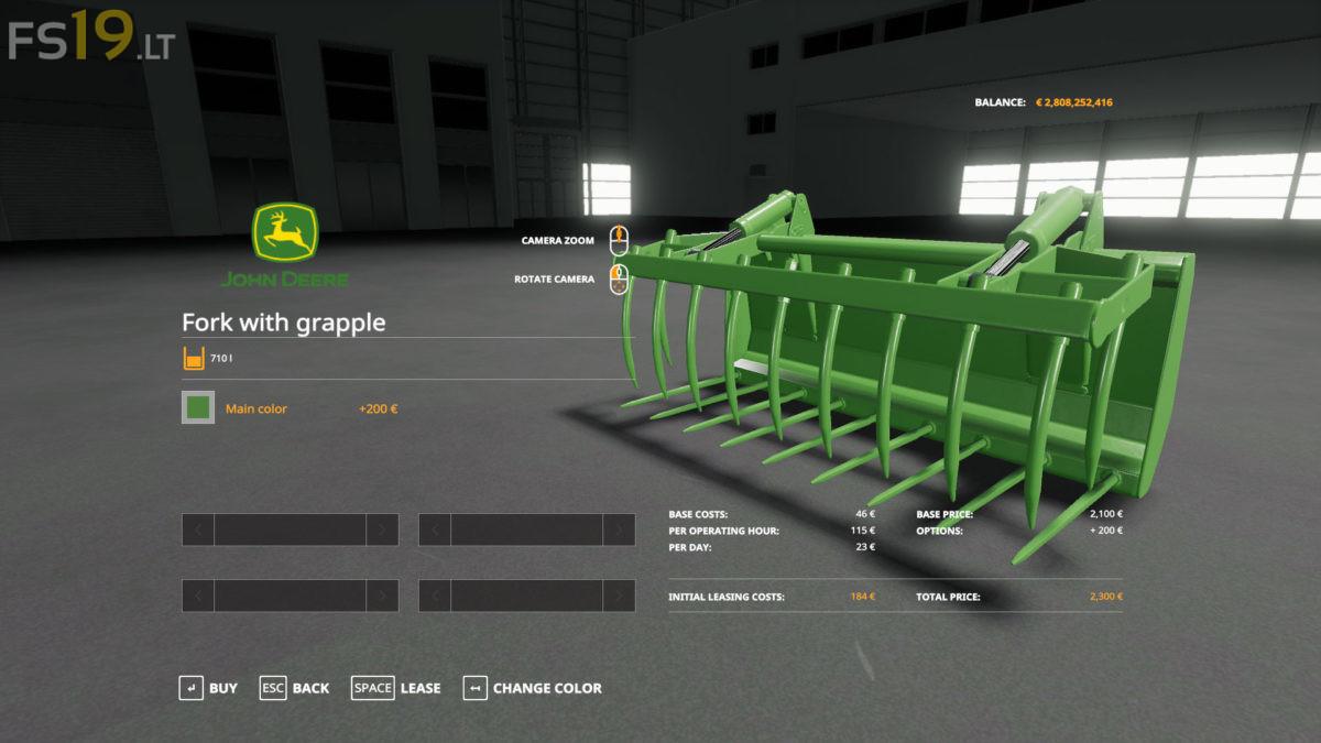 John Deere Frontloader Tools Pack V 1 0