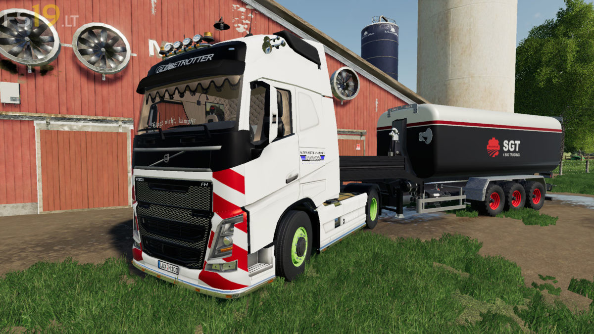Volvo Fh16 Pack V 1 0 Fs19 Mods Farming Simulator 19 Mods
