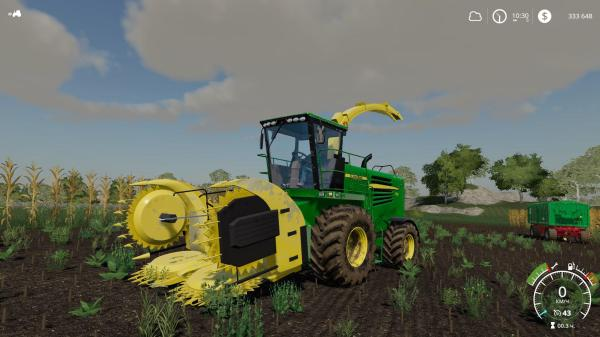 Agco Combine Harvester Set V1 0 Fs19 Farming Simulator