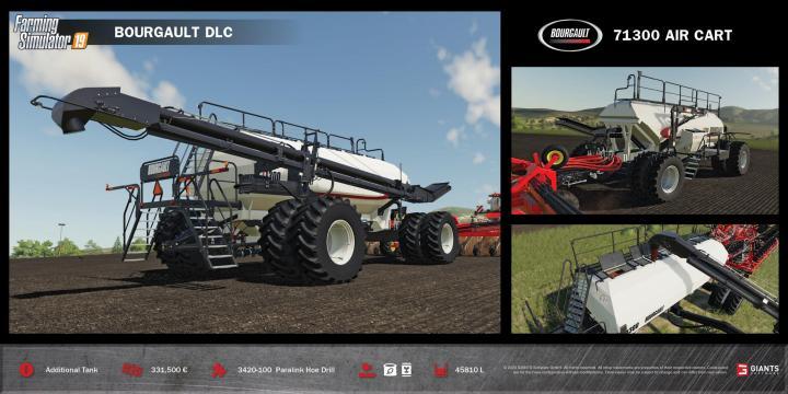 FS19 – Bourgault Dlc (Download Only) V1 – Farming Simulator 19 Mods